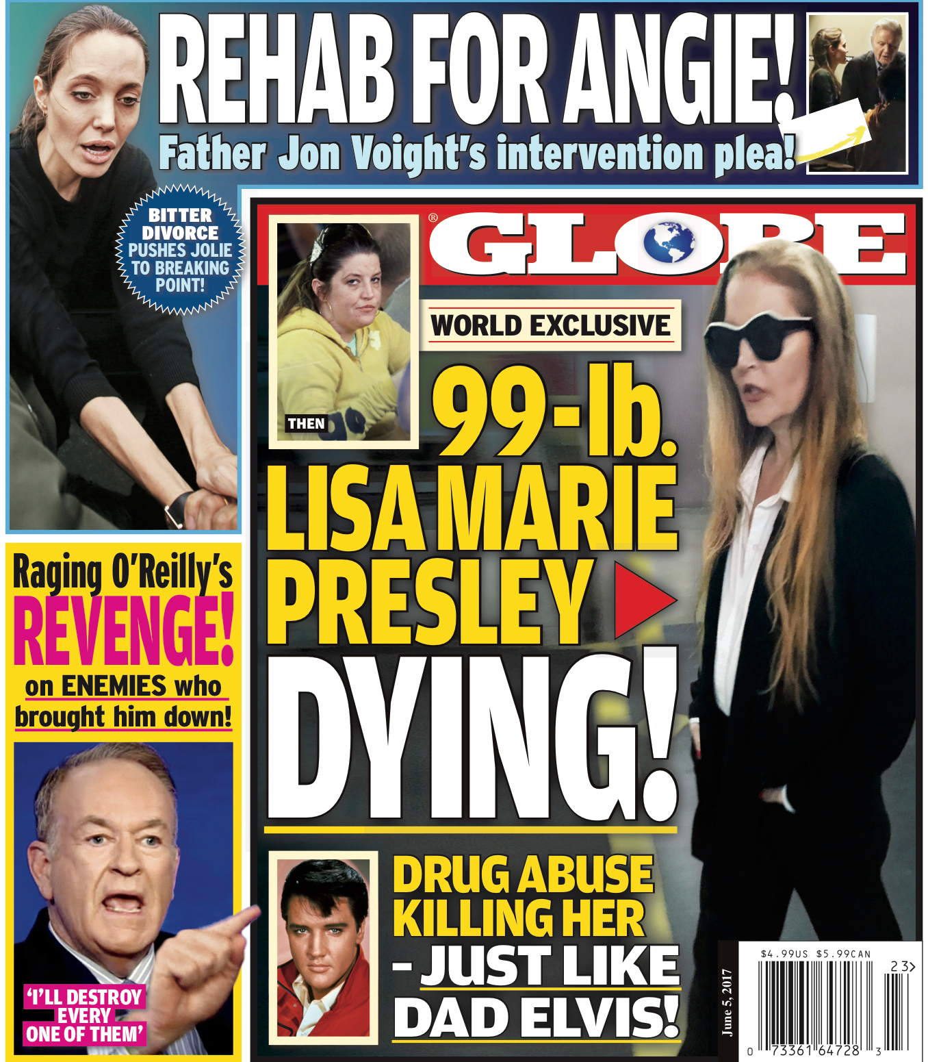 globe cover issue 23